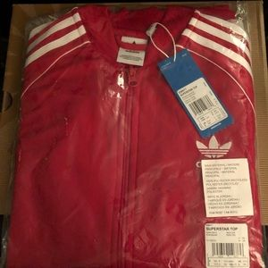 Red Adidas tracksuit - brand new